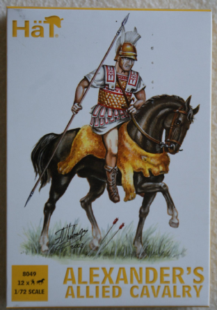 HaT 1/72 HAT8049 Alexander's Allied Cavalry (Ancients)